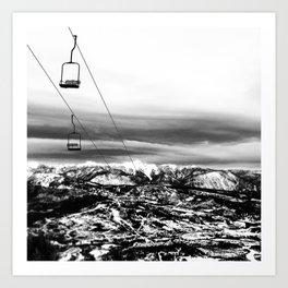 Chair to Nowhere Art Print