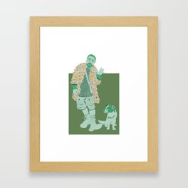 Takashi Murakami by UVTM_Designs Framed Art Print