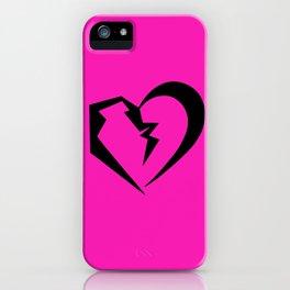 Hot Pink Heartbreak iPhone Case