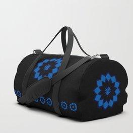 Blue Bloom Duffle Bag