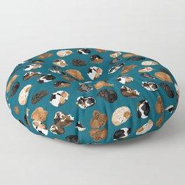 Coonhound Curl Floor Pillow