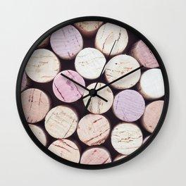 Just Corks Wall Clock