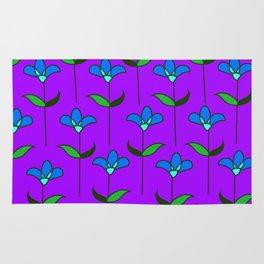 Genevieve - Purple and Blue Rug