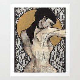 Lace I Art Print