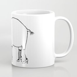 Elephant on the Town Coffee Mug