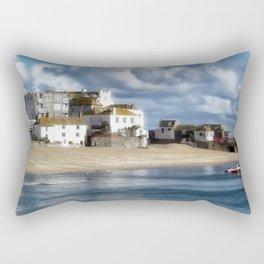 St. Ives Harbour Rectangular Pillow