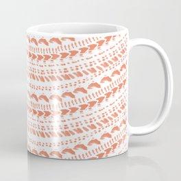 Wavy Episcopal miter shell pattern Coffee Mug