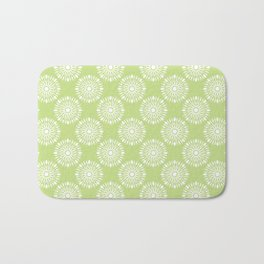 Kitchen cutlery green Bath Mat
