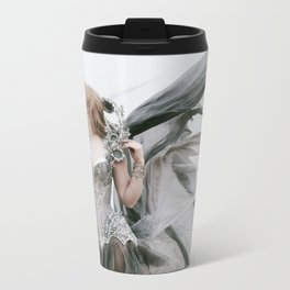 Grey Metal Travel Mug