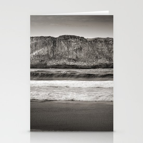 Andrin beach Stationery Cards
