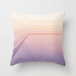 Horizontal flight Throw Pillow