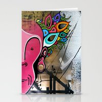 creativity Stationery Cards featuring Creativity by Connor Beale