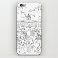 Pigeons Perspective iPhone & iPod Skin