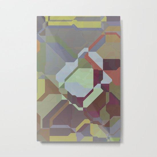Digital Puzzle Metal Print