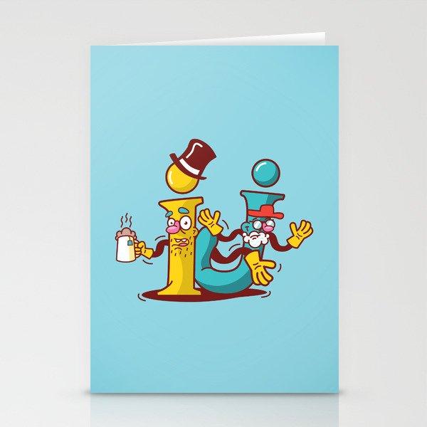 Í.J. Stationery Cards