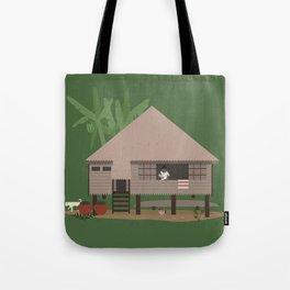 Bahay Kubo Tote Bag