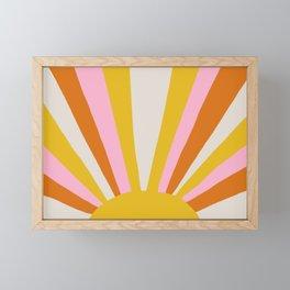 sunshine state of mind Framed Mini Art Print