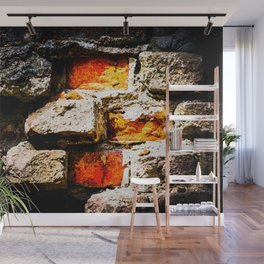 Bricks And Mortar Wall Mural