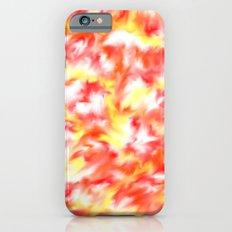Smokey Flowers Slim Case iPhone 6s