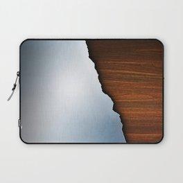 Wooden Brushed Metal Laptop Sleeve