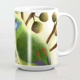 Double-eyed Fig Parrot Coffee Mug