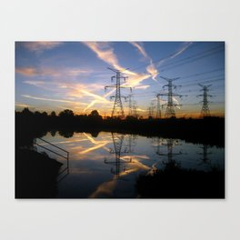 Pond Sunrise Canvas Print