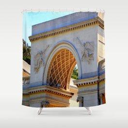 Triumpuh! Harold Found The Golden Arch Shower Curtain