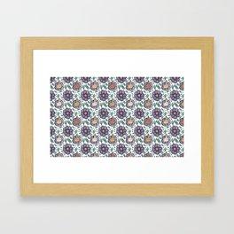 bad flower Framed Art Print