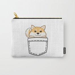 Pocket Shiba Carry-All Pouch