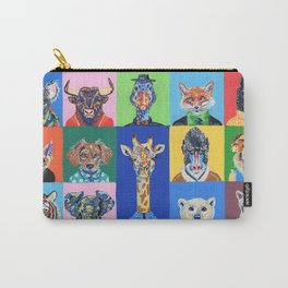 Collage animales Carry-All Pouch