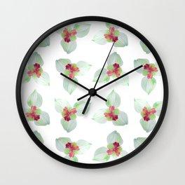 Kra dang nga,Tropical flower Wall Clock