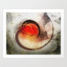 volcanic Eruption Art Print