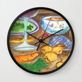 Making Goulash Wall Clock