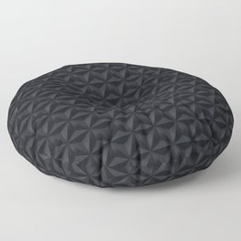 Black stars Floor Pillow
