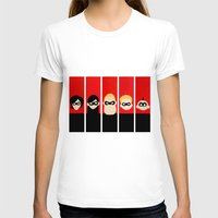 helen T-shirts featuring Incredibles Series Helen by iankingart