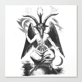 Baphomet - Satanic Church Canvas Print