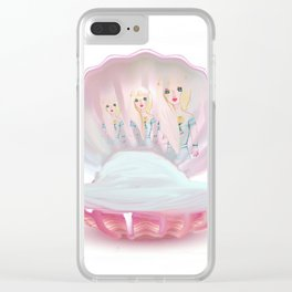 Sirens Clear iPhone Case