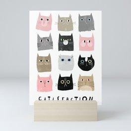 Catisfaction No. 1 Mini Art Print