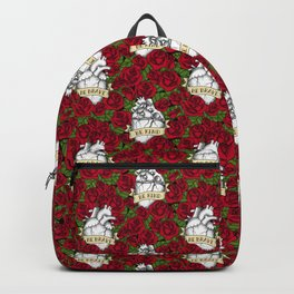 Heart and Roses Backpack