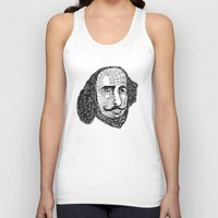 shakespeare Tank Tops featuring William Shakespeare by Feld Sprucetree