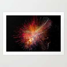 Particle Accelerator Art Print