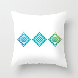 Geometric Baltic 2 Throw Pillow