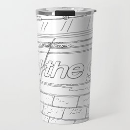 Mind the Gap - Line Art Travel Mug