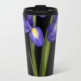 Pretty Iris Travel Mug
