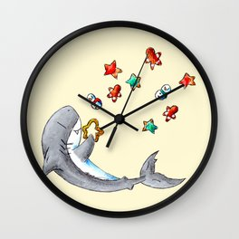 Christmas Cookie Cutter Wall Clock