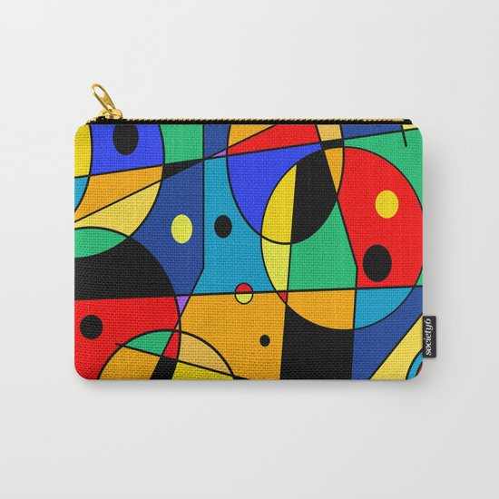 Abstract #58 Carry-All Pouch