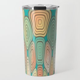 Layered squares Travel Mug