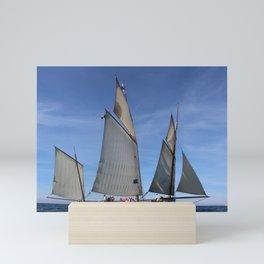 Sailing the Sea Mini Art Print