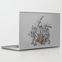police Laptop & iPad Skins featuring Police Brutality by Peter Kramar