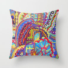 Watercolor Painting Throw Pillow